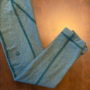 Lululemon Green Leggings/Never worn